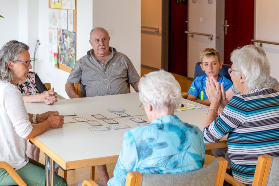 Haarnadel & Poschettli im Einsatz im Alterszentrum Bärenmatt in Bremgarten
